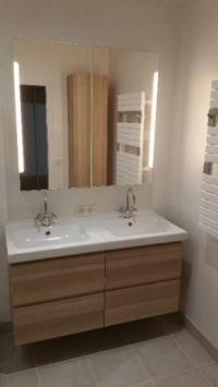 Création d'une salle de bain par votre professionnel du bâtiment MCEM Rénovations à Sèvres
